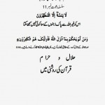 Hilal or Haram By Muhammad Younus Shaheed