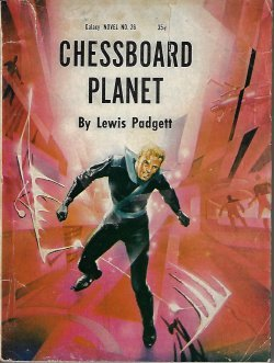 Large book cover: Chessboard Planet