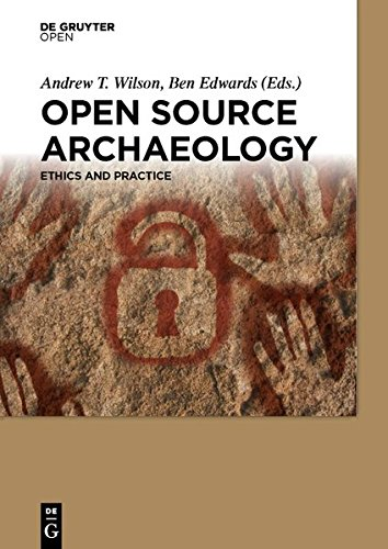 Large book cover: Open Source Archaeology