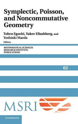 Large book cover: Symplectic, Poisson, and Noncommutative Geometry