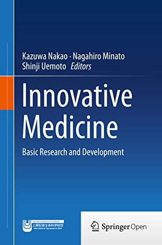 Large book cover: Innovative Medicine: Basic Research and Development