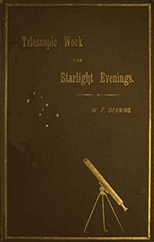 Large book cover: Telescopic Work for Starlight Evenings