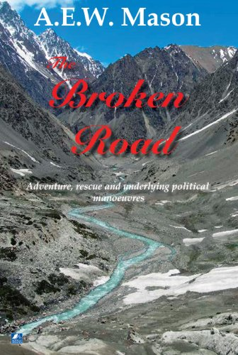 Large book cover: The Broken Road