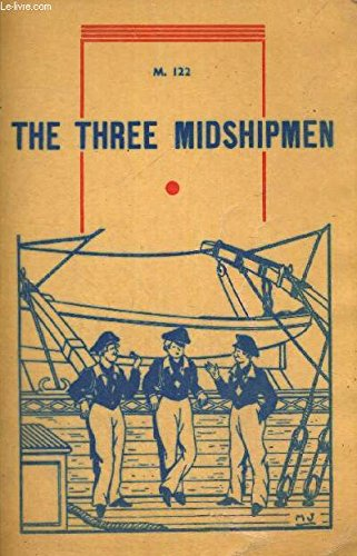 Large book cover: The Three Midshipmen