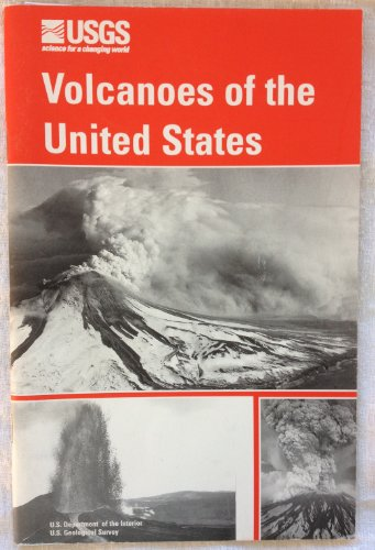 Large book cover: Volcanoes of the United States