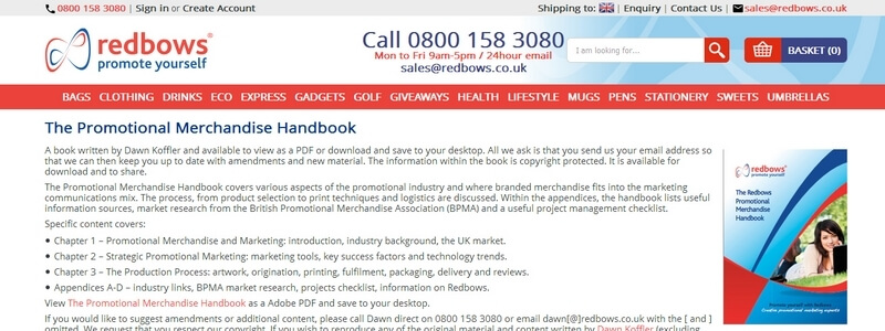 The Promotional Merchandise Handbook by Dawn Koffler