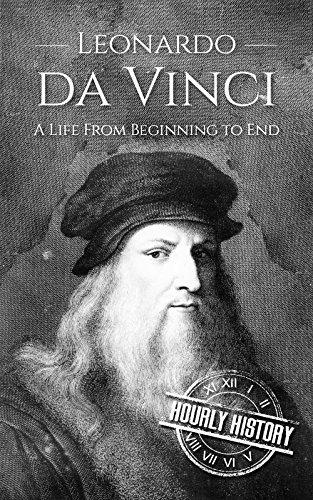 Large book cover: Leonardo da Vinci: A Life From Beginning to End