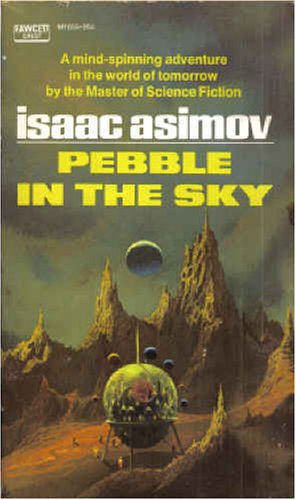 Large book cover: Pebble in the Sky