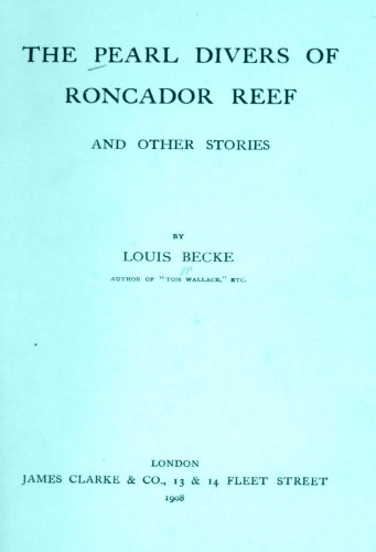 Large book cover: The Pearl Divers of Roncador Reef